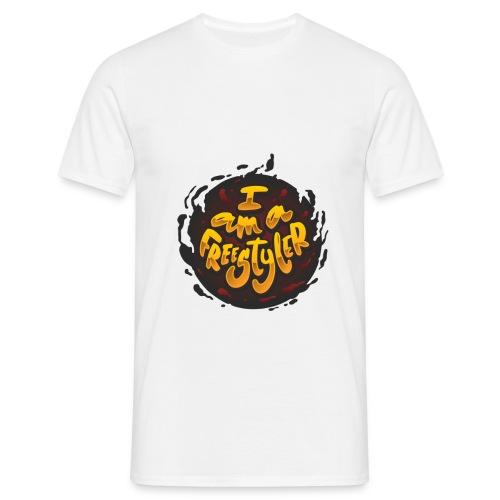 Yellow / Brown - Men's T-Shirt