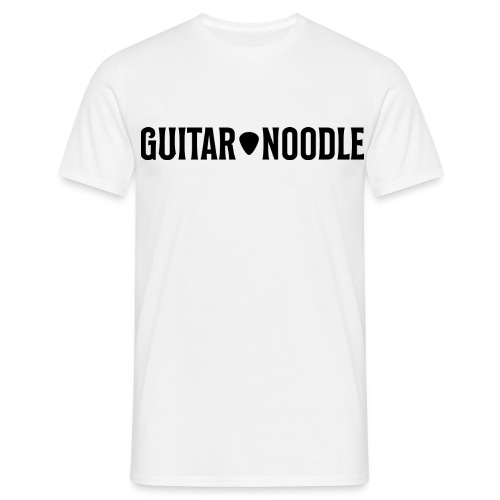 Guitar Noodle Logo - Men's T-Shirt