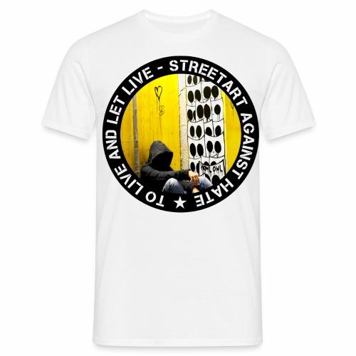 No hate family - by Eulen Heulen (CH) - Männer T-Shirt