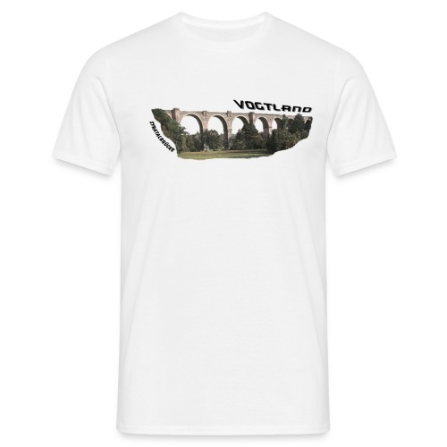 Vogtland Syratalbrücke - Männer T-Shirt