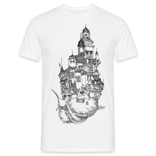 Schnecke - Männer T-Shirt