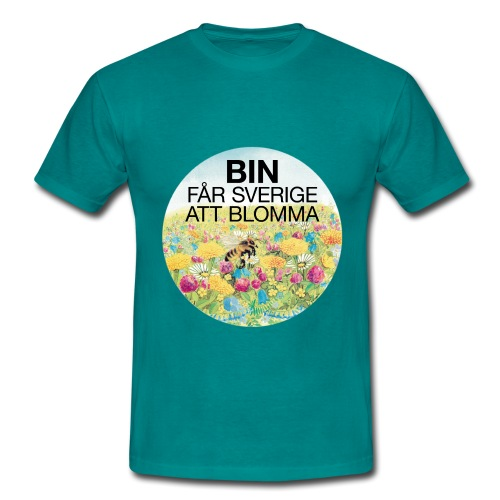 Bin får Sverige att blomma - T-shirt herr