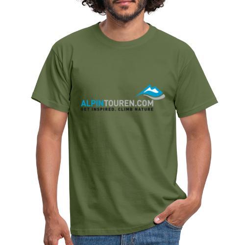 Alpintouren Logo - Männer T-Shirt