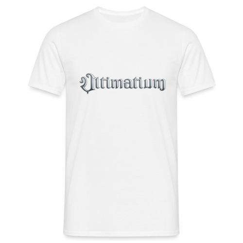 Ultimatium logo & crest - Miesten t-paita