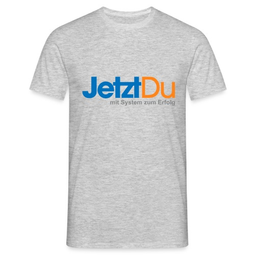 JetztDuLogo ArtWork1 - Männer T-Shirt