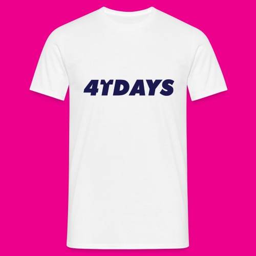 Original 4tdays logo - Mannen T-shirt