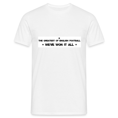 The greatest of English football - Men's T-Shirt