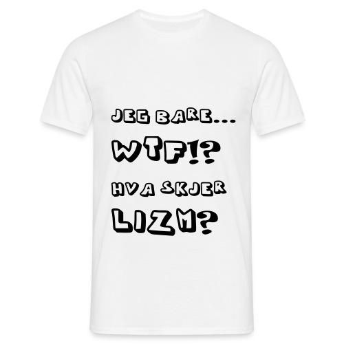 WTF - T-skjorte for menn