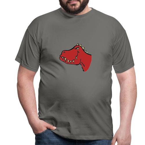 T Rex, Red Dragon - Men's T-Shirt