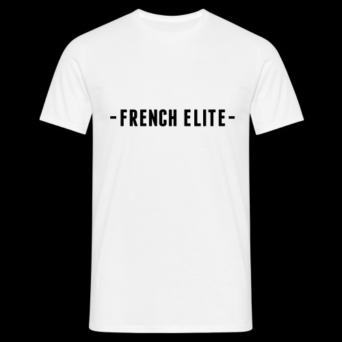 french elite strak voor sier achter - Mannen T-shirt