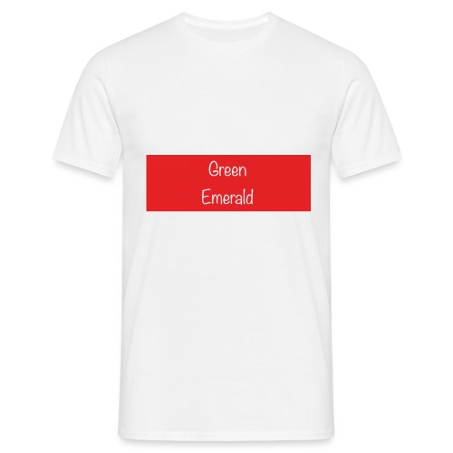 Green Emerald suprememe - Men's T-Shirt