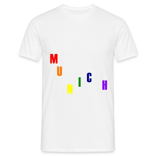 München Rainbow #1 - Männer T-Shirt