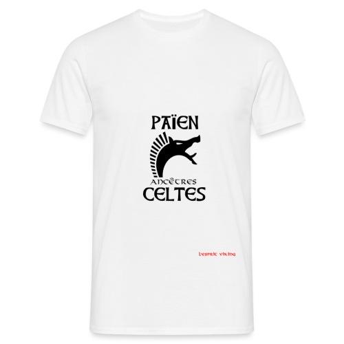 PAIENancCELTE CARNYXblack - T-shirt Homme
