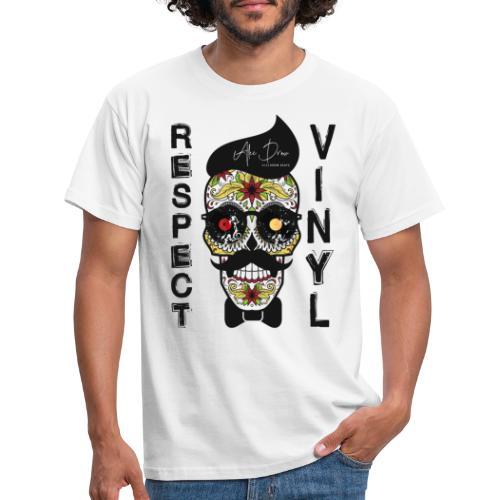 Boner Edt. I • Respect Vinyl - Männer T-Shirt