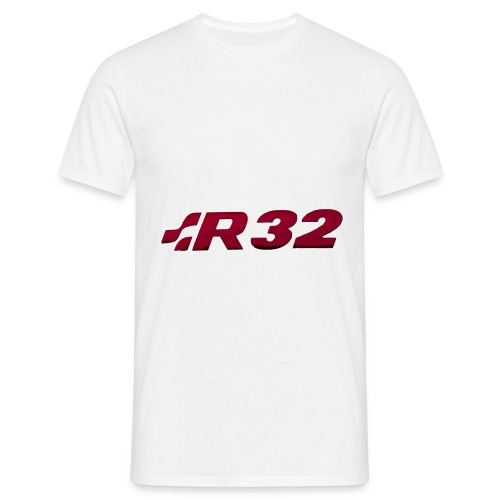 R32 Chrome Red - Männer T-Shirt