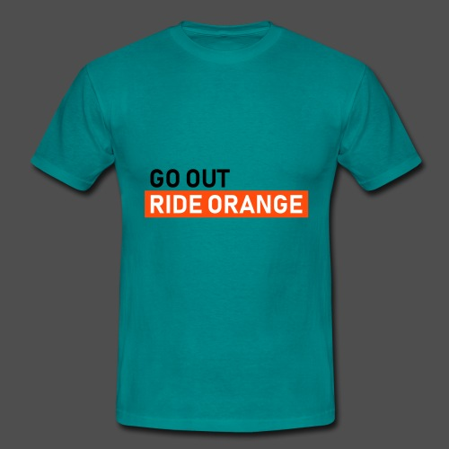 ride orange - Männer T-Shirt