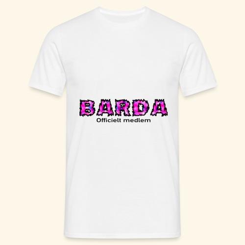 Barda medlem - Herre-T-shirt
