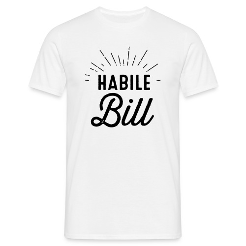habile bill png - T-shirt Homme