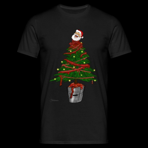 Messy Christmas - Mannen T-shirt