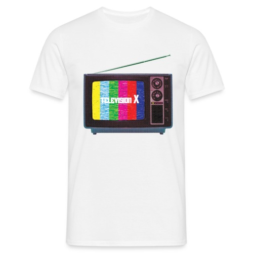 TELEVISION X - Herre-T-shirt