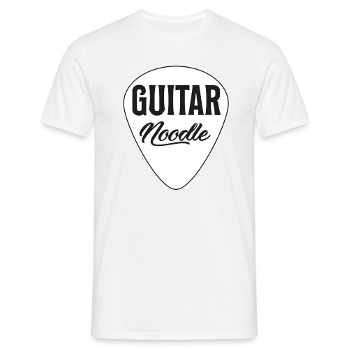 Guitar Noodle Guitar Pick - Men's T-Shirt
