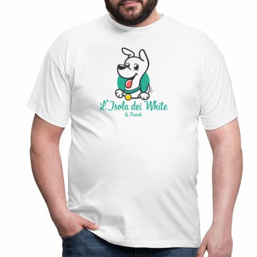Logo L'Isola dei White & Friends - Maglietta da uomo