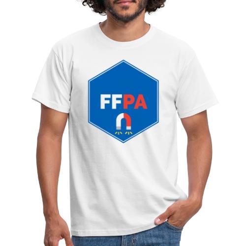 Logo de la fédé française de pêche à l'aimant - T-shirt Homme