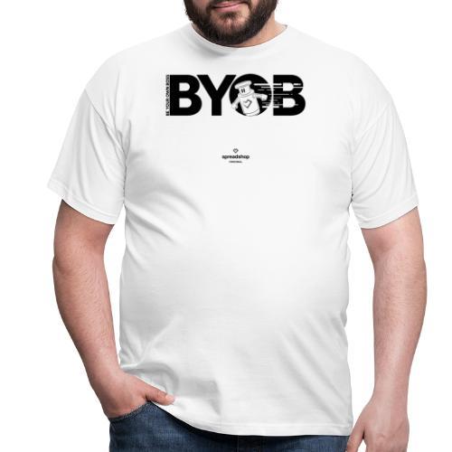 BYOB2 Dark Robot - Men's T-Shirt