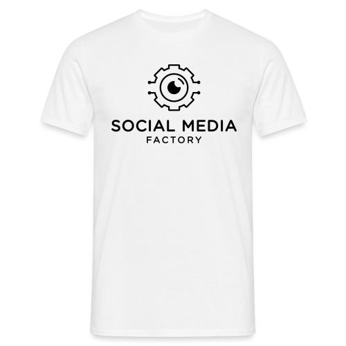 Social Media Factory Logo - Männer T-Shirt