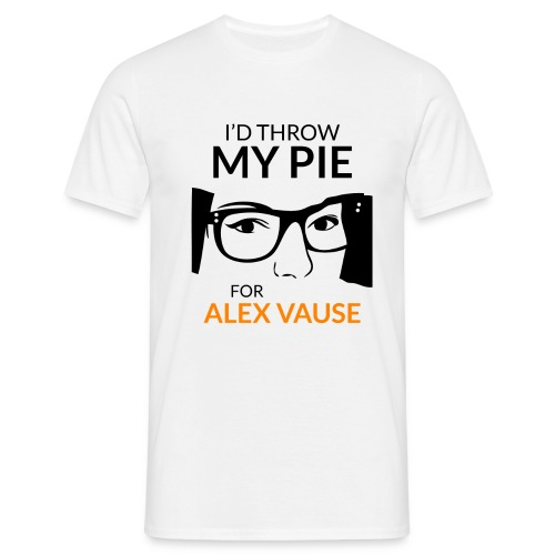 I d thrw my pie for Alex Vause - Men's T-Shirt