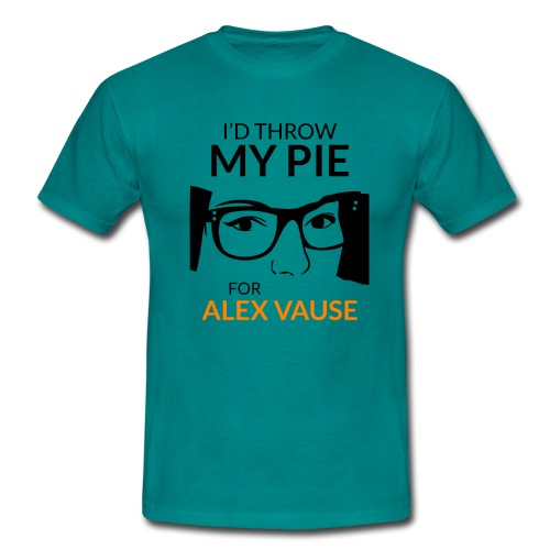 I d thrw my pie for Alex Vause - Men's T-Shirt