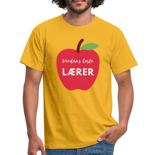 Verdens beste lærer - T-skjorte for menn