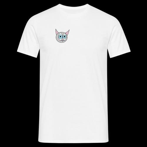 Katze GMBH Logo - Männer T-Shirt