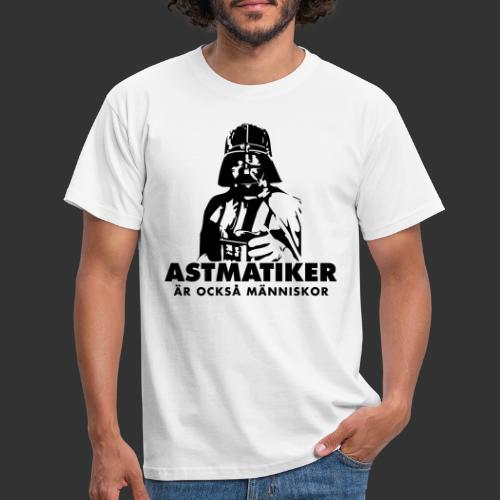 Astmatiker är också människor - T-shirt herr
