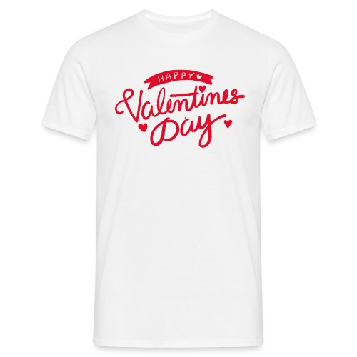 Happy Valentines Day - T-shirt Homme