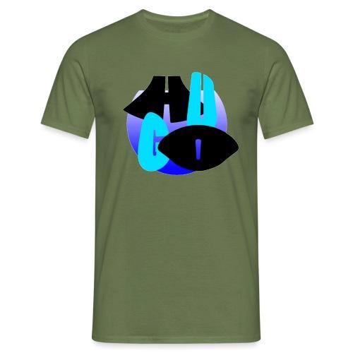 Hugo's logo transparant - Mannen T-shirt