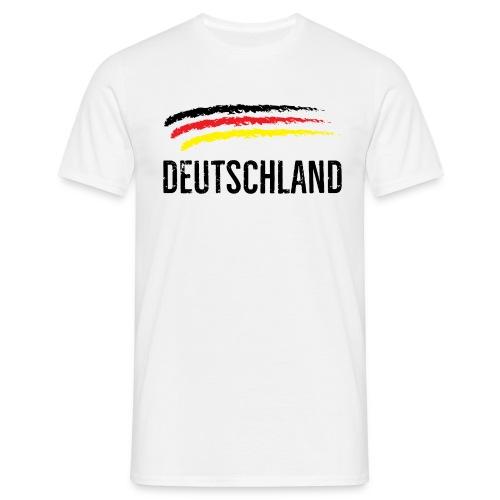 Deutschland, Flag of Germany - Men's T-Shirt