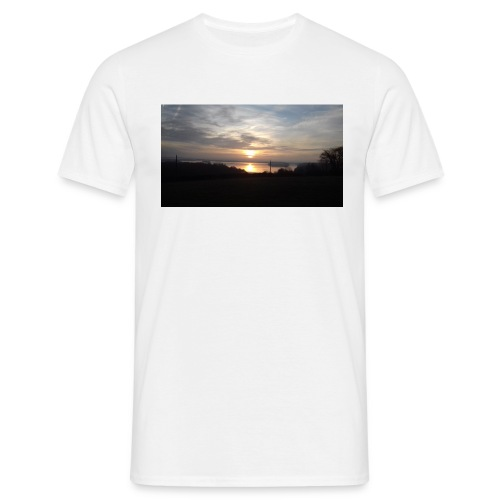 sun set - Men's T-Shirt