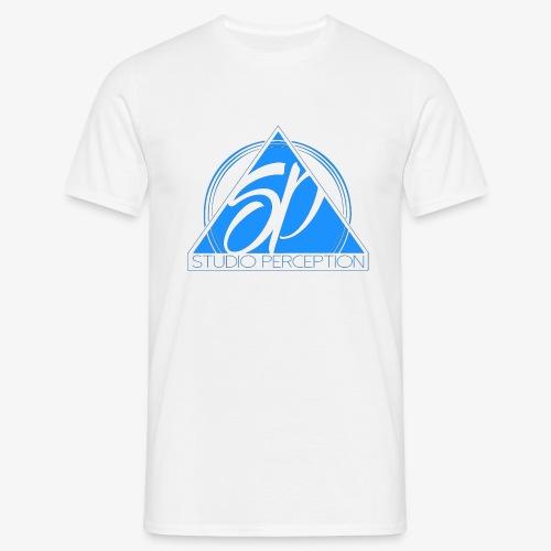 SP LOGO PERCEPTION CLOTHES BLEU - T-shirt Homme