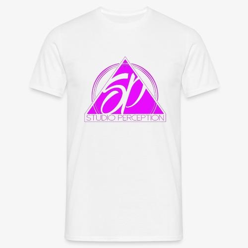 SP LOGO PERCEPTION ROSE - T-shirt Homme