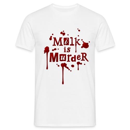 01_t_milkismurder - Männer T-Shirt