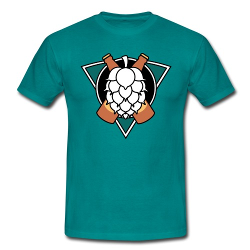 Mighty hops Original logo - T-shirt herr
