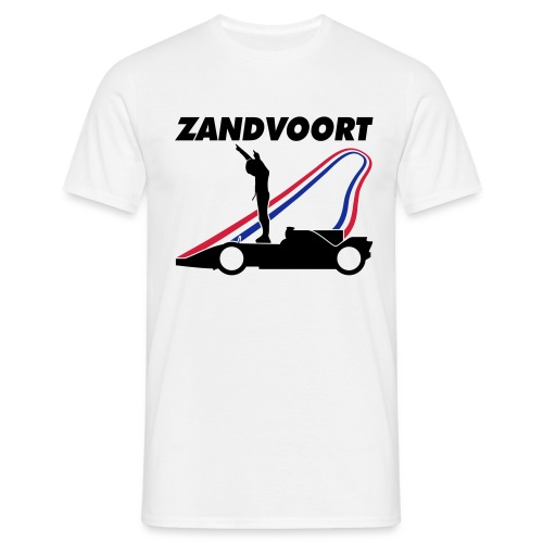 Zandvoort rood wit blauw - Mannen T-shirt