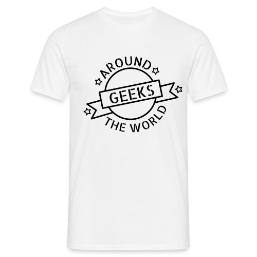 Geeks around the world - T-shirt Homme