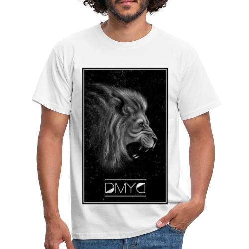 Lion Born to draw - T-shirt Homme