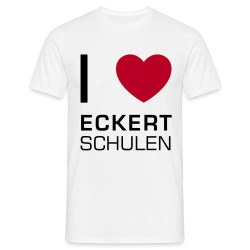 I love Eckert Schulen - Männer T-Shirt