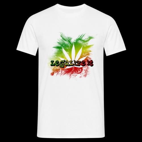 Legalize it - Männer T-Shirt