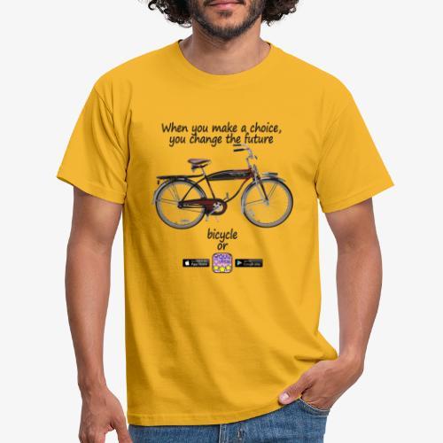 Bicycle or... - Maglietta da uomo