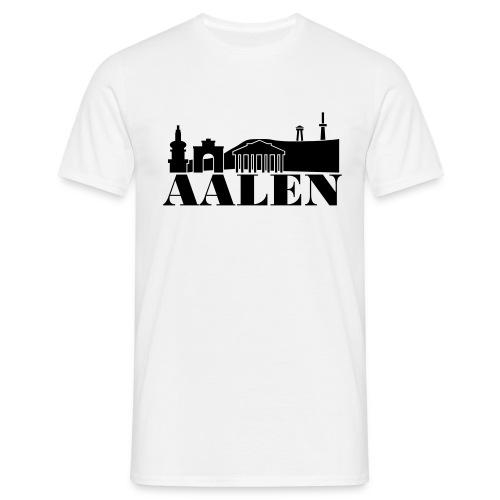Aalen Skyline - Männer T-Shirt