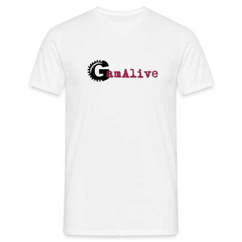 GamAlive coul Def PNG png - T-shirt Homme